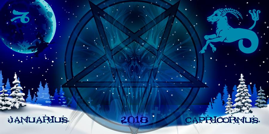 Козерог на Январь 2018: гороскоп от ведьм