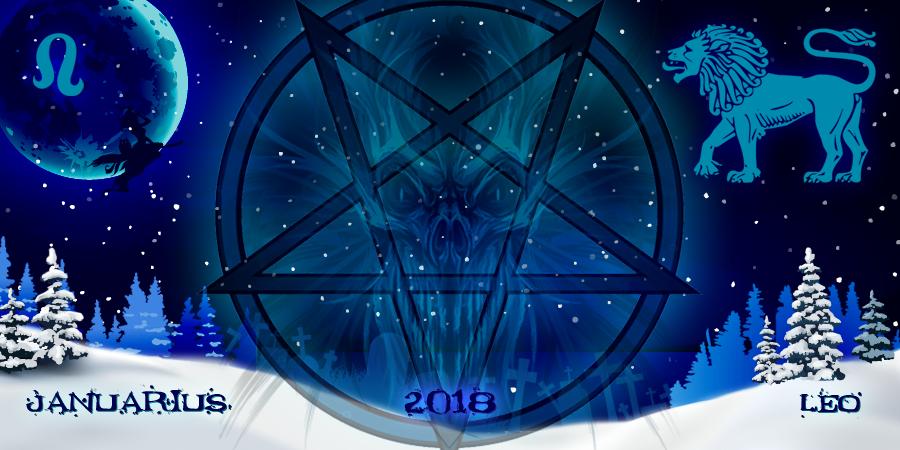 Гороскоп от ведьм для Львов на январь 2018-го года