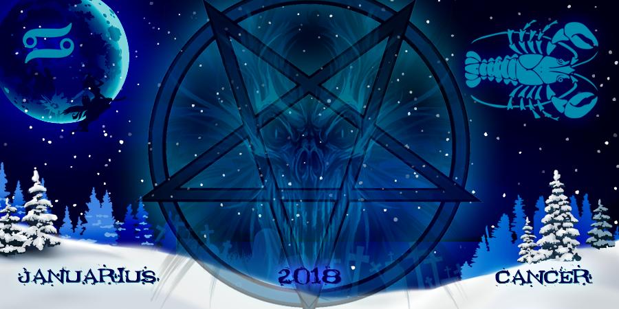 Ракам в Январе 2018 от ведьм отдела проклятий: гороскоп
