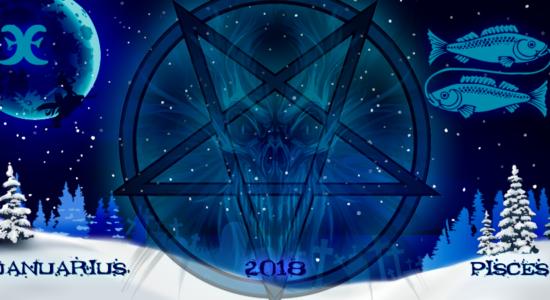 Рыбы на январь 2018, гороскоп от ведьм