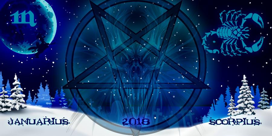 Скорпион январь 2018: гороскоп от ведьм