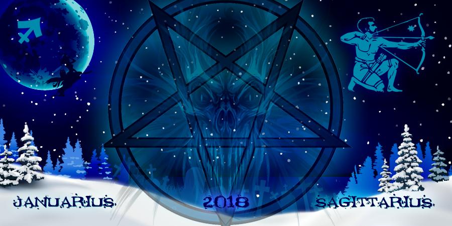 Стрелец Январь 2018 - гороскоп от ведьм