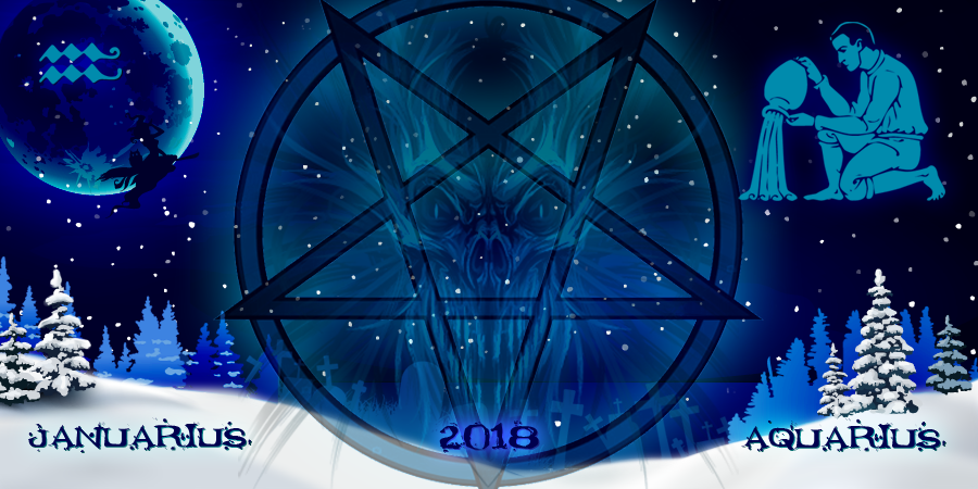 Водолей Январь 2018. Гороскоп от ведьм. Ведьмологический прогноз