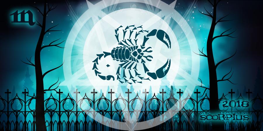 Скорпионы в 2018-м году по гороскопу от ведьм